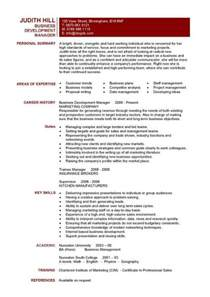 Business Resume Template Business Development Manager Cv Template Purchase