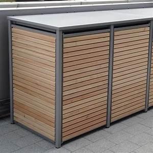 Müllbox Selber Bauen : 2er m lltonnenbox alu l rche unbedingt kaufen ~ Lizthompson.info Haus und Dekorationen