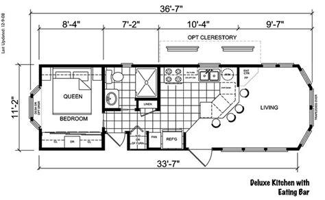 Park Model Plans 16x40  Rivieraii Floor Plan  Rv Park
