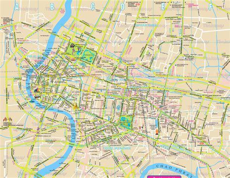 thailand map bangkok