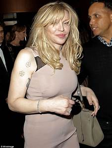 Courtney Love makes first public appearance since winning ...