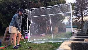 My Homemade Golf Net    Driving Range