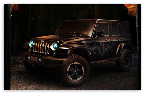 Jeep Wrangler Concept Car 4k Hd Desktop Wallpaper For 4k