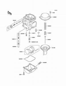Carburetor Parts For Kawasaki Ex250 2003 Year