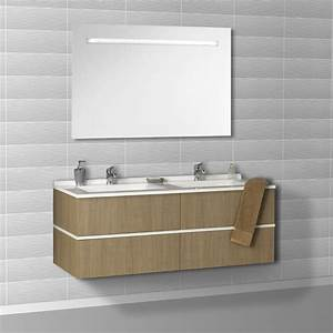 Meuble Salle De Bain Double Vasque Pas Cher : meuble double vasque pas cher ~ Teatrodelosmanantiales.com Idées de Décoration