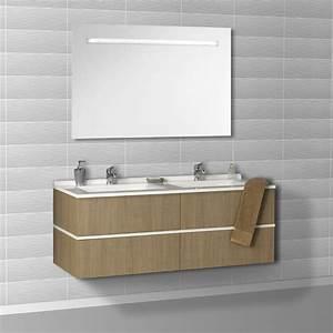 119 meuble lavabo pas cher meuble salle de bain bois pas With salle de bain design avec lavabo suspendu castorama