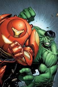 Hulk vs Iron Man Hulkbuster Armor