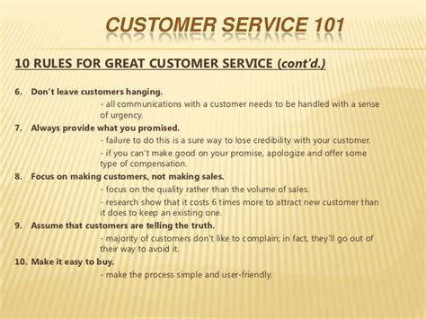 What Does Great Customer Service To Me by Customer Service 1