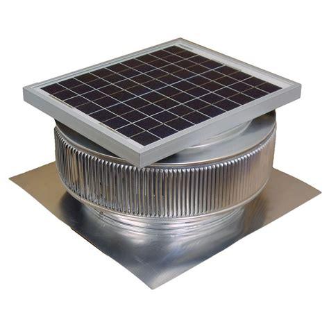 chimney exhaust fans cost active ventilation 1007 cfm mill finish 15 watt solar