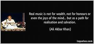 Real music is n... Real Musicians Quotes