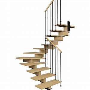 Calcul Escalier Quart Tournant : escalier aerien contemporain deux quart tournant ~ Melissatoandfro.com Idées de Décoration