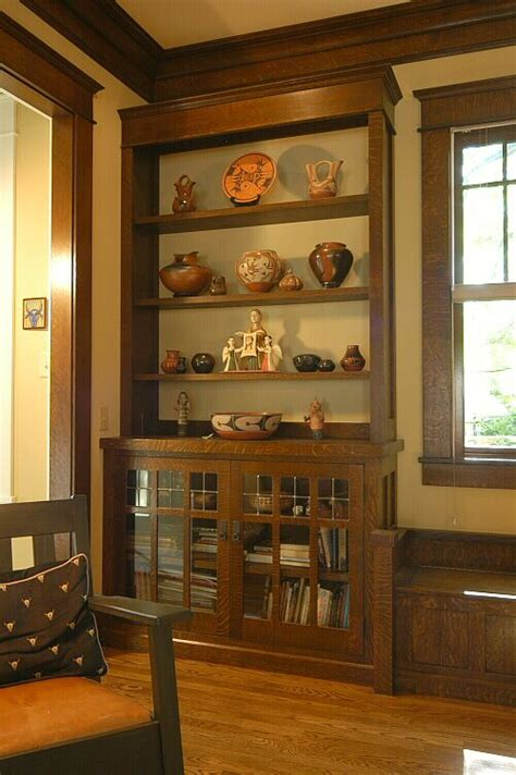 Craftsman Style Built In Bookcases by 25 Best Ideas About Craftsman Built In On