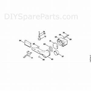 Stihl Fs 80 Brushcutter  Fs80e 4112   Parts Diagram  C