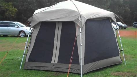 pop  tent  black pine turbo tent screen machine  mighty mite dog gear youtube