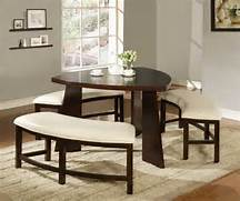 Dining Set Bench Style by Small Dining Room Decor Home Designs Project