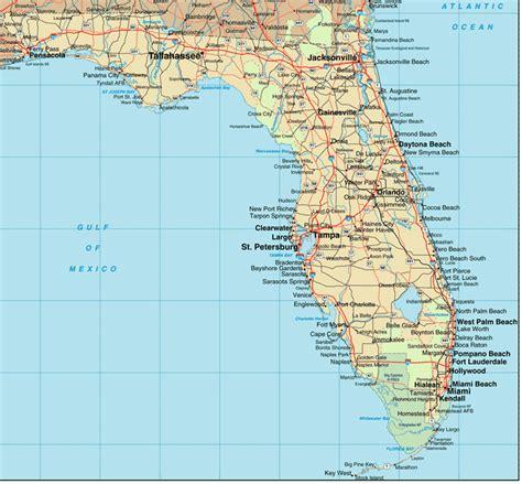 florida map miami beach   map  floirda  cities