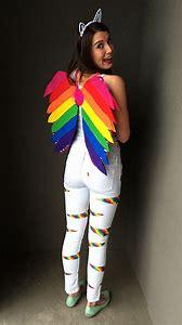 DIY Rainbow Halloween Costume