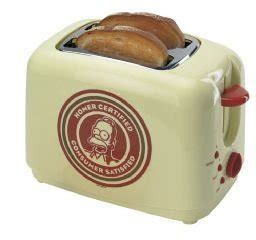 Simpsons Toaster - the simpsons sm752 homer toaster co uk kitchen home