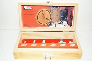 hickory woodworking  shank carbide router bits set ebay