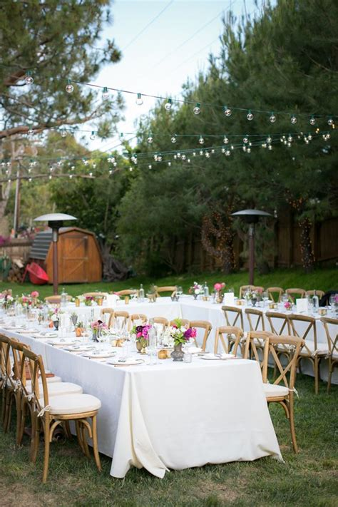 Wedding Reception In Backyard - 17 best ideas about backyard wedding receptions on