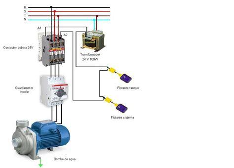 circuito electrico de tanque cisterna diagrama para