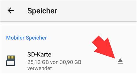 sd karte formatieren android mac und windows  gehts
