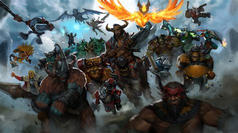 dota  epic heroes wallpaper hd