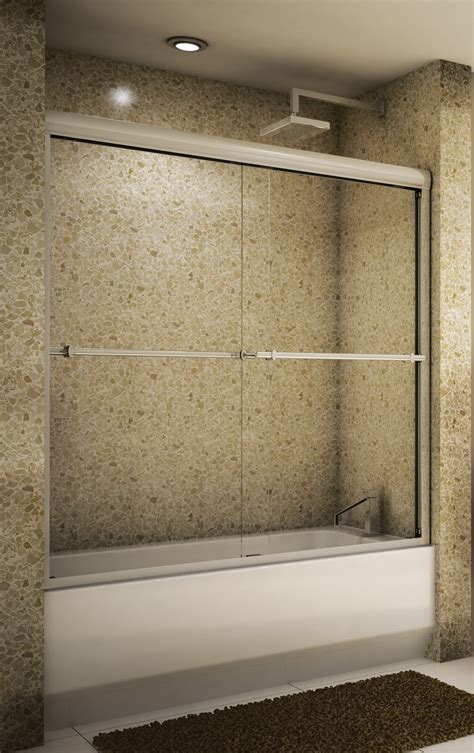 bathtub sliding doors how to install bathtub sliding doors door