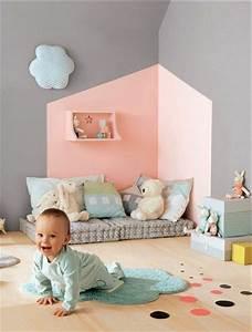 relooking et decoration 2017 2018 accord couleur With couleur mur chambre bebe