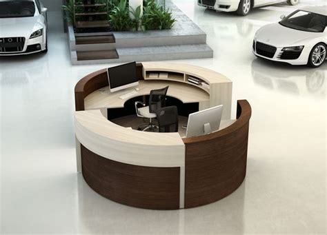 circular reception desk lobby best 25 modern reception desk ideas on