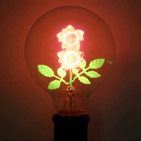 flowers in light bulbs image gallery light bulbs cool