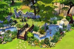 Blackys Sims 4 Zoo: Secret Garden by mystril • Sims 4