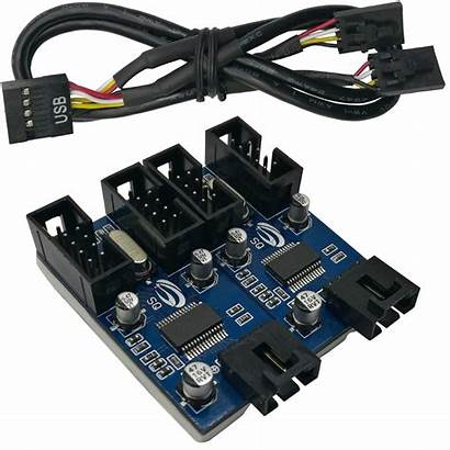 Usb Motherboard Header Connector Cable Hub Female