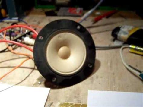 ultrasonic sound generator     tweeter schematic