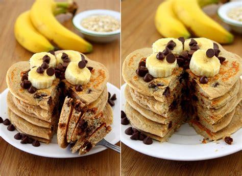 recette pancake banane flocon davoine  site culinaire