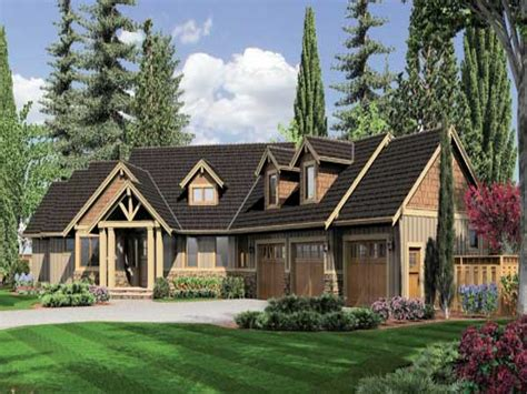 Ranch House Plans Country Style Halstad Craftsman Ranch