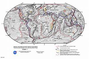 NASA Visible Earth: Digital Tectonic Activity Map