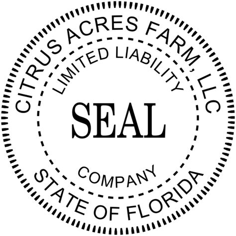 Standard Professional Seal