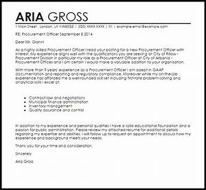 cover letter for purchasing manager - procurement officer cover letter sample cover letter