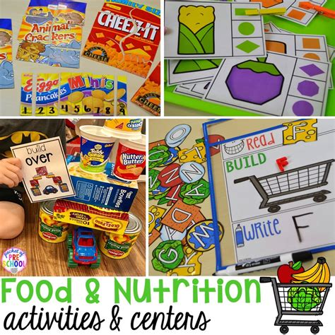food and nutrition centers for preschool pre k and 609 | Slide1