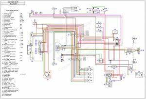 1994 Fzr 1000 Wiring Diagram Color