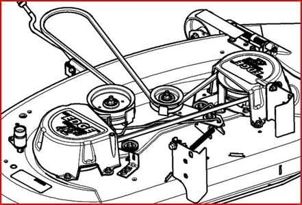 solved need diagram for deere d140 mower deck belt fixya