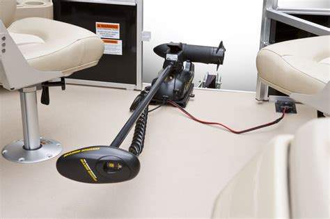 What Size Trolling Motor For 24 Pontoon Boat by Quality Performance Satisfaction Built Into All