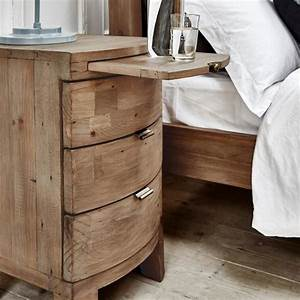 Winchester Rustic Wooden Bedside Table Modish Living