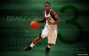 Brandon Jennings Milwaukee Bucks Wallpapers | Full HD Pictures