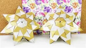 3d Stern Basteln 5 Zacken : diy stern flacher bascetta stern aus 21 elementen mit 7 ~ Lizthompson.info Haus und Dekorationen