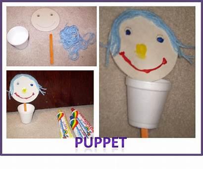Face Preschool Craft Crafts Activities Parts Jack