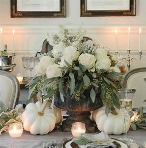 25, Beautiful, And, Elegant, Centerpiece, Ideas, For, A, Thanksgiving, Table