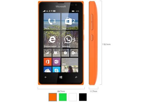 microsoft introduces its cheapest windows phone yet the lumia 435 noypigeeks