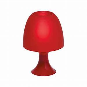 Lampe De Chevet Sans Fil : lampe poser sveta coloris rouge vente de lampe conforama ~ Dailycaller-alerts.com Idées de Décoration